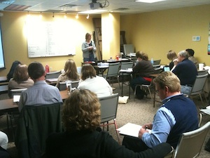 Kathryn Sotelo teaches Keller Williams Agents how to work with new internet clients